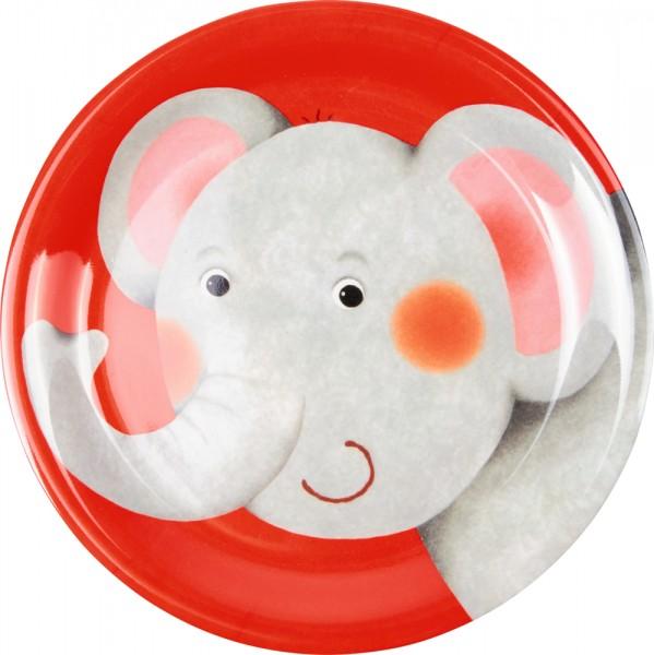 Freche Rasselbande Elefant Melamin-Teller