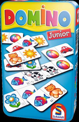 Domino Junior, Bring-Mich-Mit-Spiel in Metalldose
