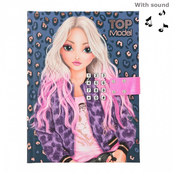 TOPModel Geheimcode Tagebuch mit Sound LEO LOVE