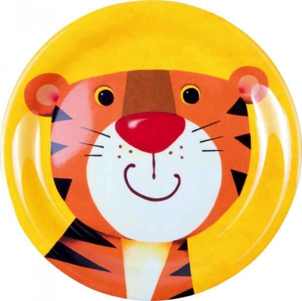 Freche Rasselbande Tiger Melamin-Teller