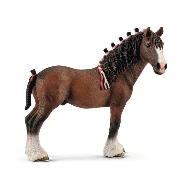Schleich Farm World 13808 Clydesdale Wallach