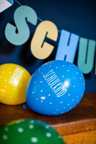 Ballons Schulkind aus Naturkautschuk