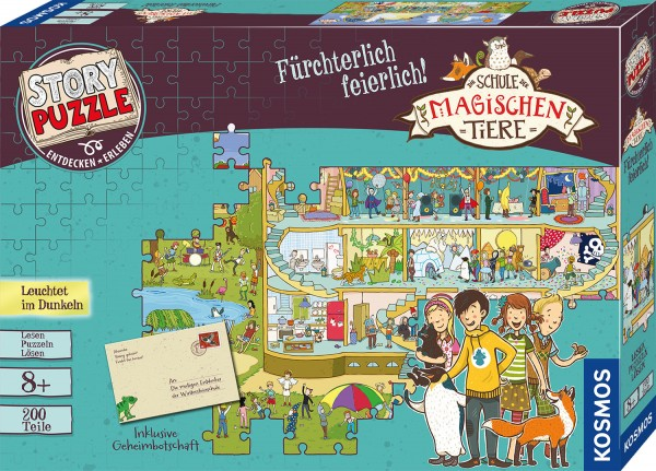 Puzzle Die Schule der magischen Tiere Fürchterlich feierlich