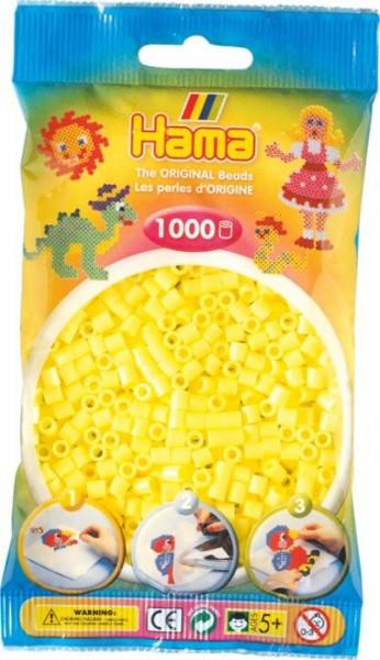 Hama® Bügelperlen Midi - 5mm Pastell Gelb 1000 Perlen