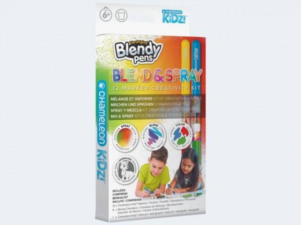 Blendy Pens Blend & Spray 12 Farben