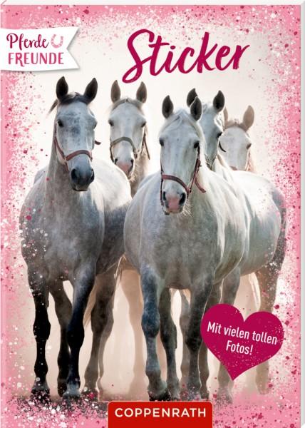 Pferdefreunde: Sticker - Mit vielen tollen Fotos!