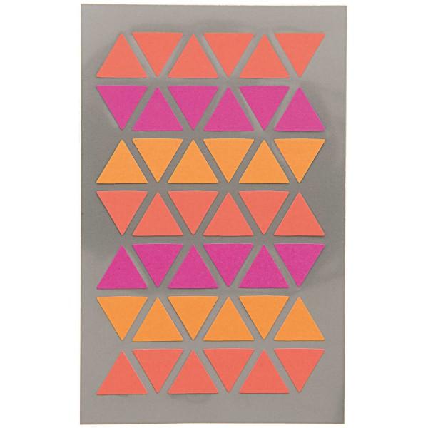 Rico Design Sticker Dreieck Pink/Rot