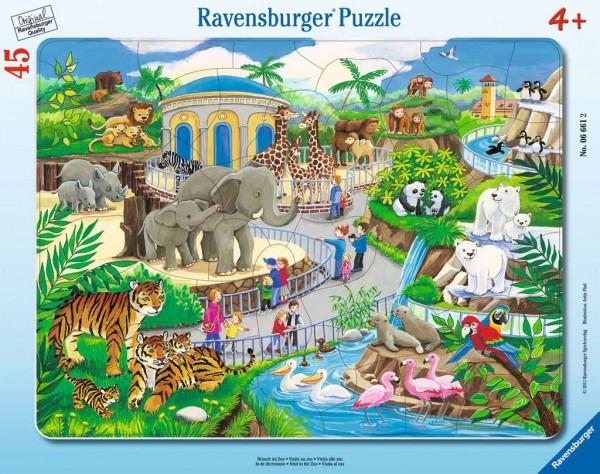 Besuch im Zoo (45 Teile)