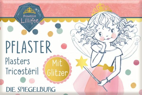 Pflasterstrips mit Glitzer Pr.Lillifee (10 St.) Glitter&Gold