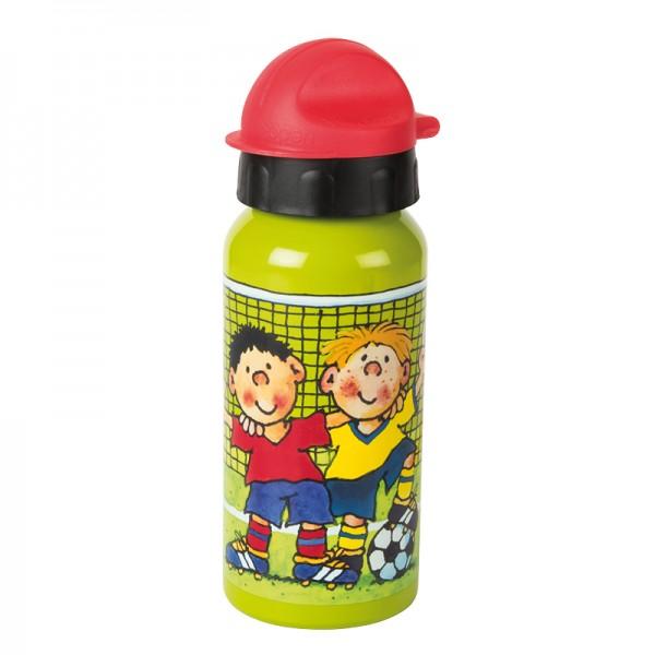 Trinkflasche Fußball Fritz Flanke