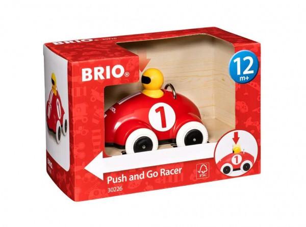 Push & Go Rennwagen Rot