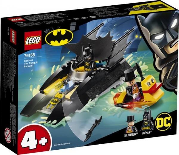 LEGO® DC Universe Super Heroes 76158 Verfolgung des Pinguins mit dem Batboa