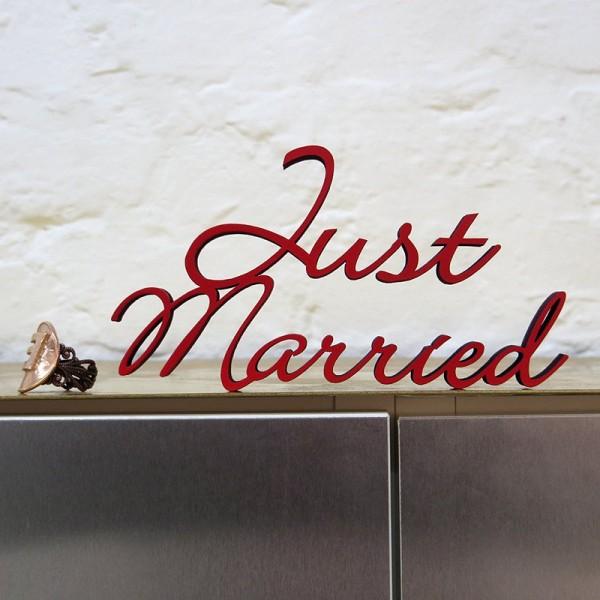 NOGALLERY Just Married - grau
