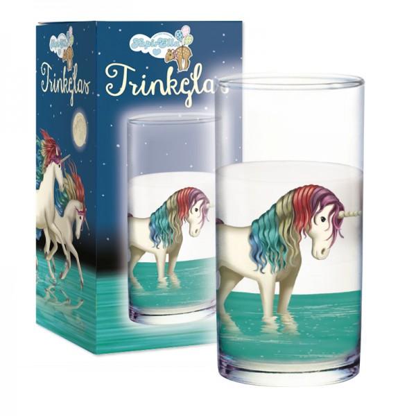 Trinkglas Einhorn Lunabelle