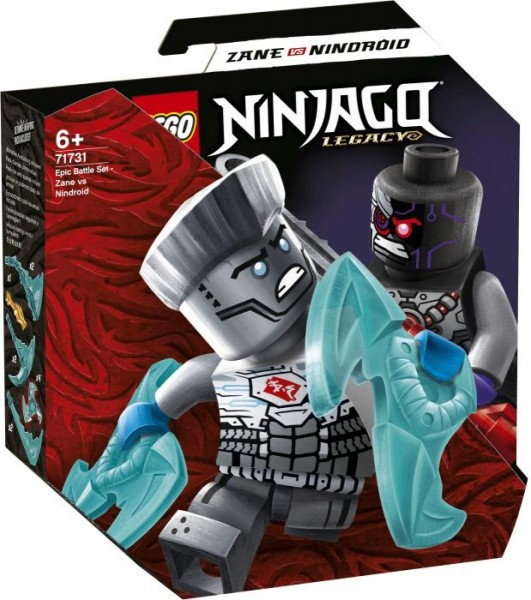 LEGO® NINJAGO 71731 Battle Set: Zane vs. Nindroid