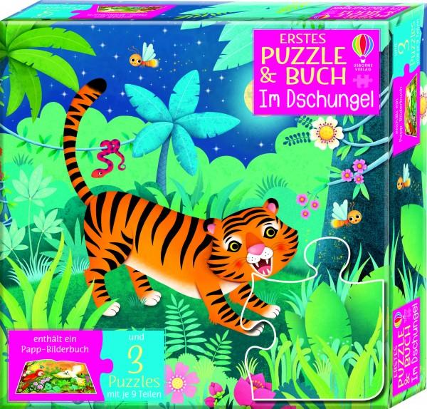 Sam Taplin, Erstes Puzzle & Buch: Im Dschungel