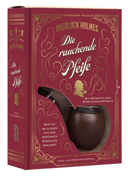 Sherlock Holmes und die rauchende Pfeife - Geduldspiel