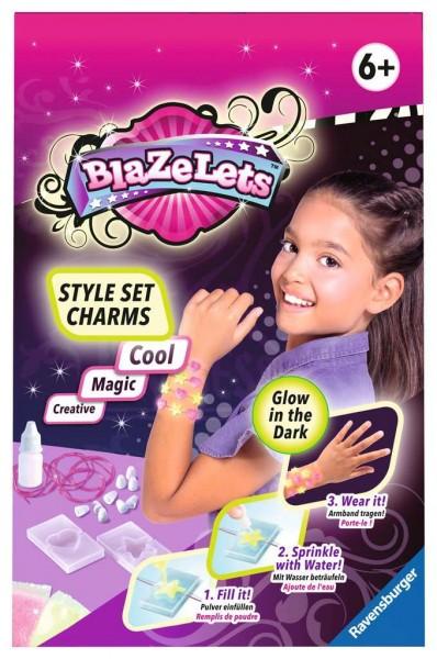Blazelets Style Set Charms Glow in the Dark