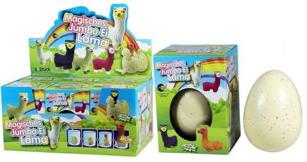 "Magische Jumbo Eier ""Lama"""