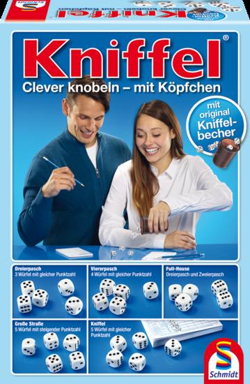 Kniffel® mit Lederwürfelbecher