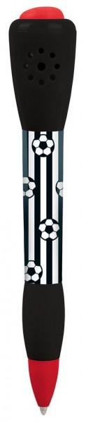 Fußball-Fieber Kugelschreiber mit Sound