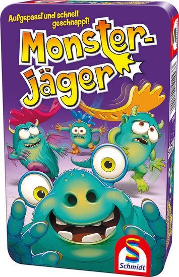 Monsterjäger, Bring-Mich-Mit-Spiel in Metalldose