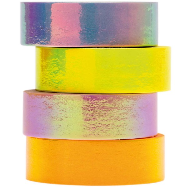 Tape Set irisierend Pastell