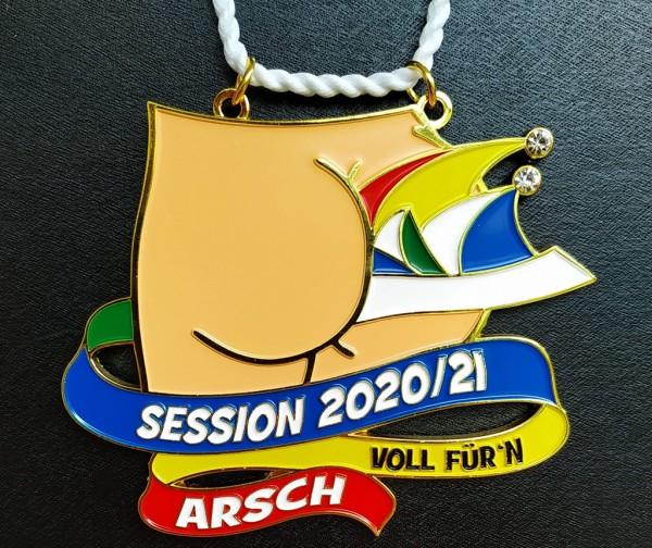"""Orden """"Session 2020/21 Voll für'n Arsch"""""""