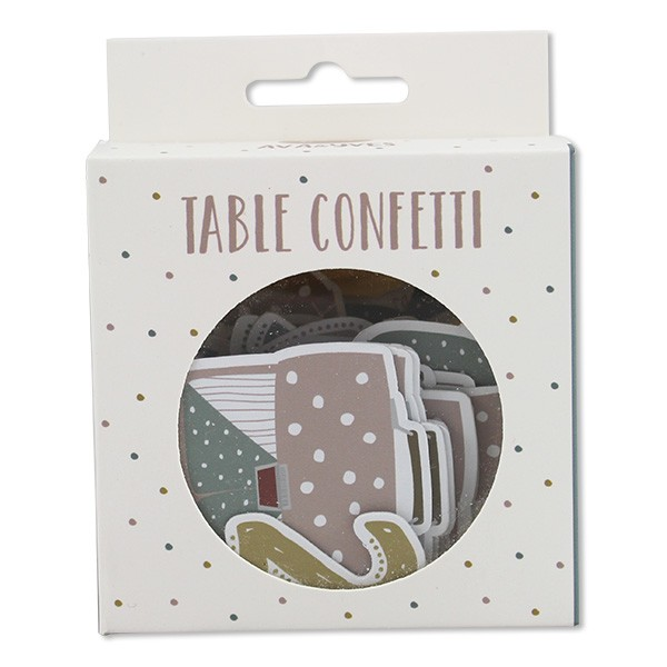 Table Confetti Schulkind, pastell