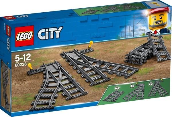 LEGO® City 60238 Weichen, 8 Teile