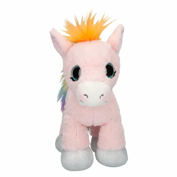 Ylvi & the Minimoomis Pony Roosy Rainbow Plüsch, 24 cm
