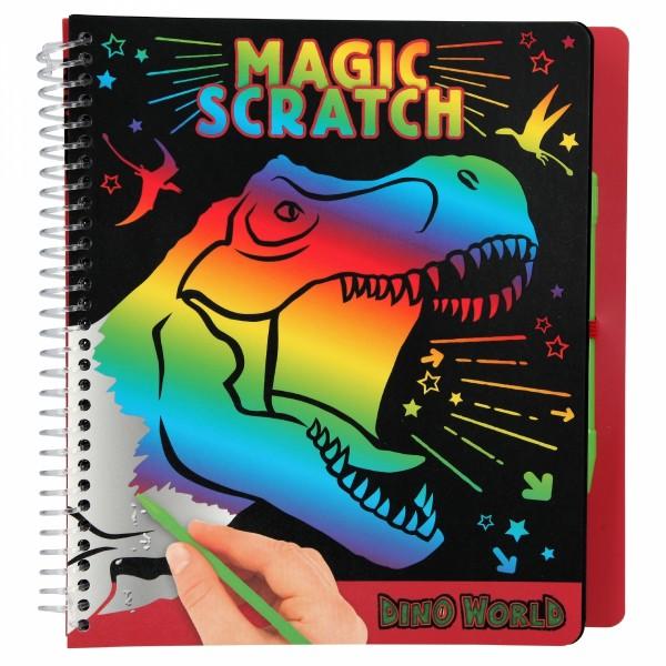 Dino World Magic Scratch Book