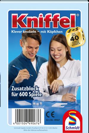Kniffelblock