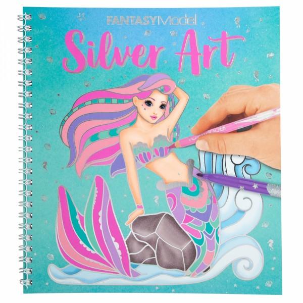 Fantasy Model Malbuch Silver Art