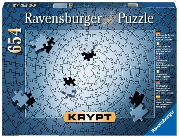 Puzzle Krypt silber