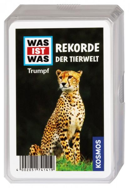 WAS IST WAS Rekorde der Tierwelt Trumpfkartenspiel
