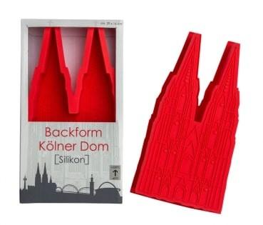 Backform Kölner Dom Silikon