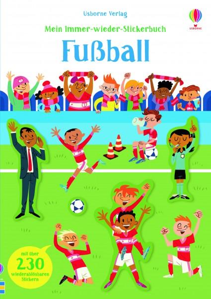 Sam Smith, Mein Immer-wieder-Stickerbuch: Fußball