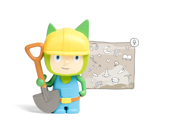 Kreativ - Tonie Bauarbeiter