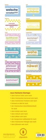 Kalender Rheinisch immerwährend