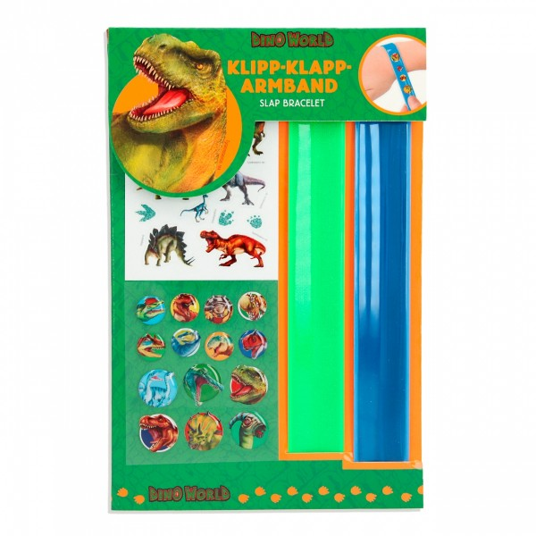 Dino World Klipp-Klapp-Armband