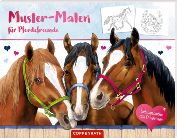 Muster malen für Pferdefreunde
