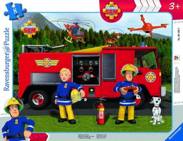 Feuerwehrmann Sam Rettung durch Sam (8 Teile)