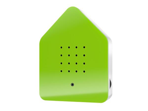 Zwitscherbox Grün