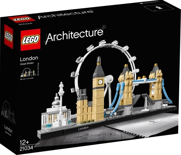 LEGO® Architecture 21034 London, 468 Teile