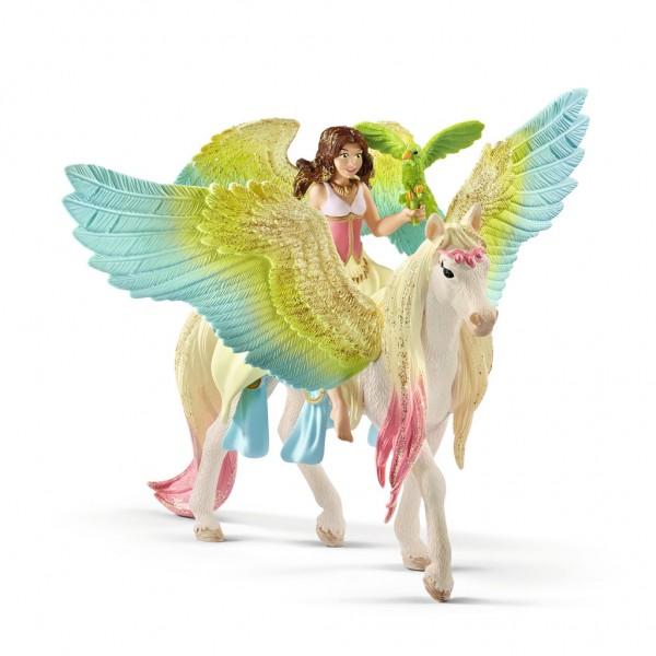 Schleich bayala 70566 Surah mit Glitzer-Pegasus