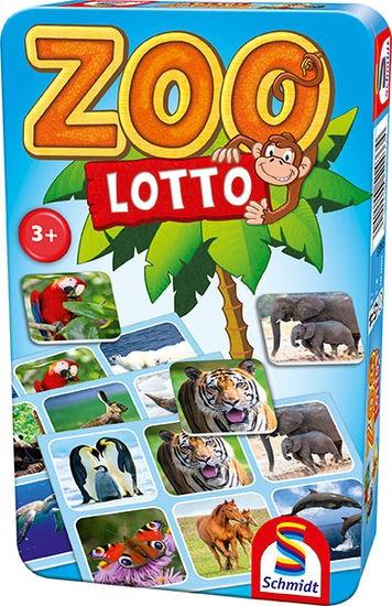 Zoo Lotto, Bring-Mich-Mit-Spiel in Metalldose