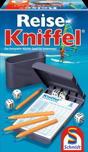 Reise-Kniffel® mit Zusatzblock