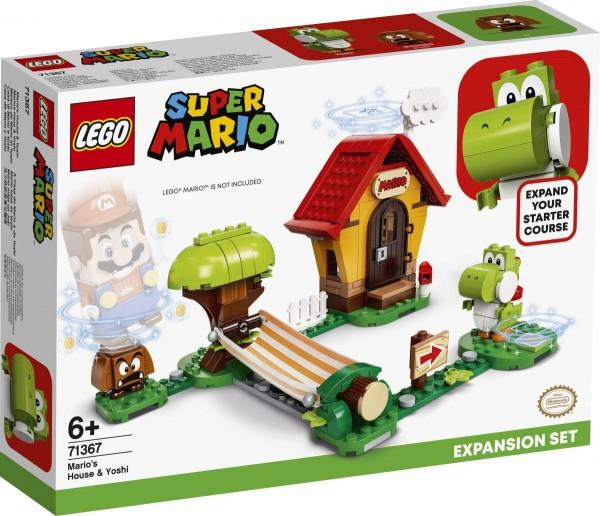LEGO® Super Mario 71367 Marios Haus und Yoshi