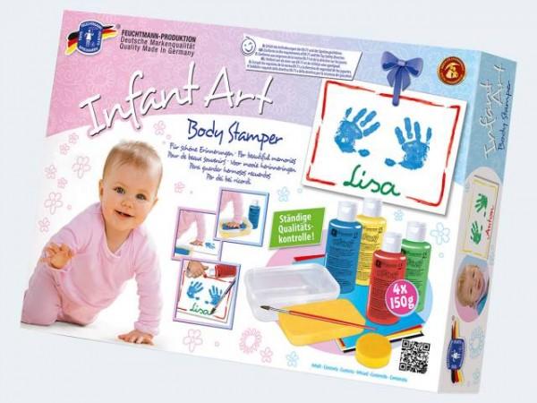 Abdruckset Infant Body Stamper 4x150g